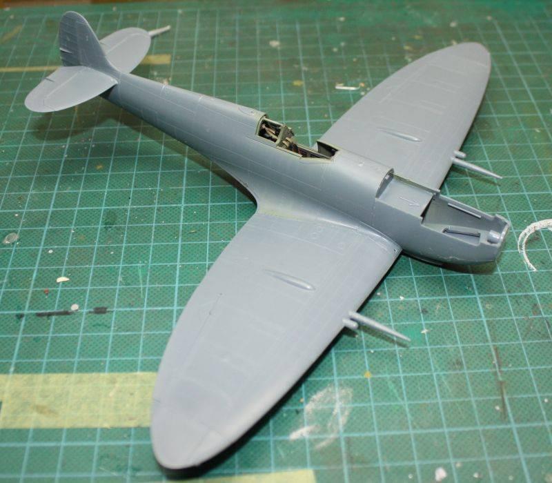 Spitfire Mk IX Eduard 1/48 SpitfireMKIX074