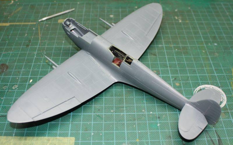 Spitfire Mk IX Eduard 1/48 SpitfireMKIX075