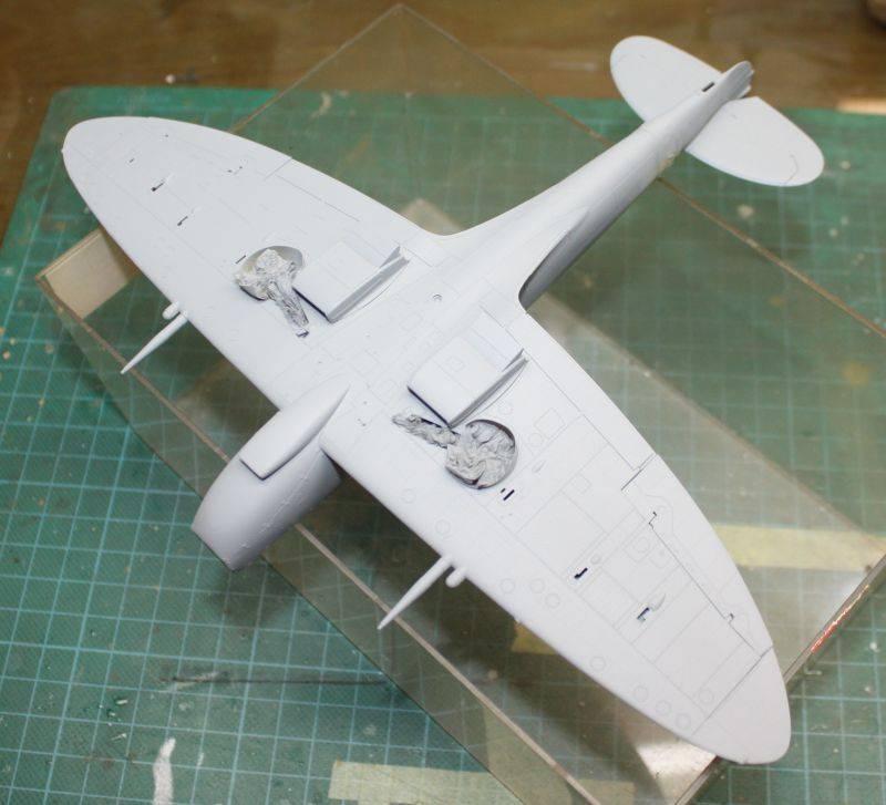 Spitfire Mk IX Eduard 1/48 SpitfireMKIX085