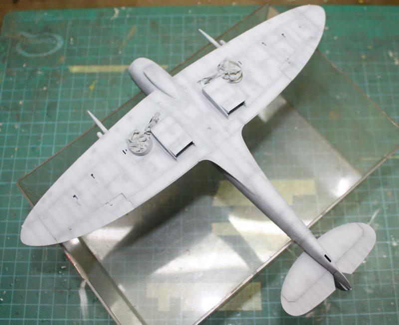 Spitfire Mk IX Eduard 1/48 SpitfireMKIX096