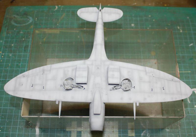 Spitfire Mk IX Eduard 1/48 SpitfireMKIX098