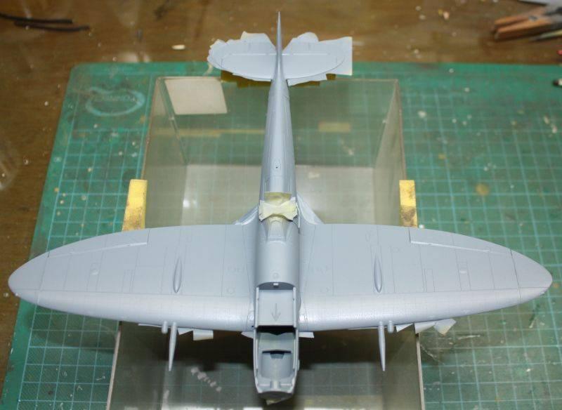 Spitfire Mk IX Eduard 1/48 SpitfireMKIX099