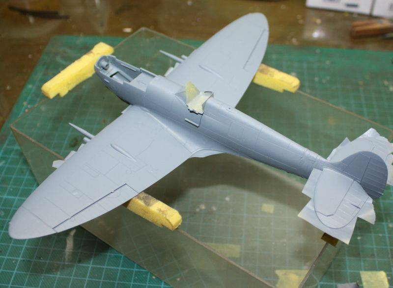 Spitfire Mk IX Eduard 1/48 SpitfireMKIX100