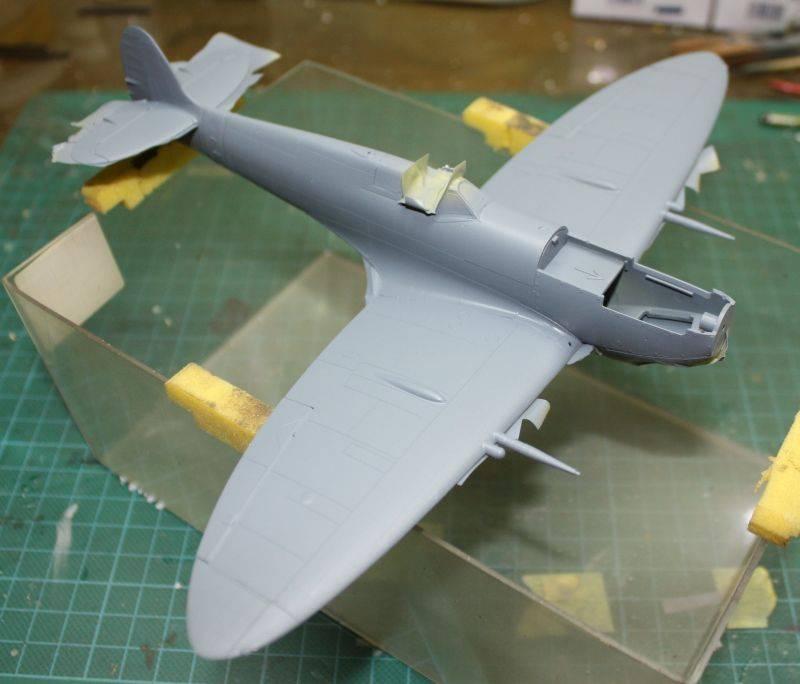 Spitfire Mk IX Eduard 1/48 SpitfireMKIX101