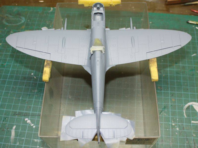 Spitfire Mk IX Eduard 1/48 SpitfireMKIX102