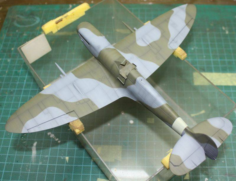 Spitfire Mk IX Eduard 1/48 SpitfireMKIX118
