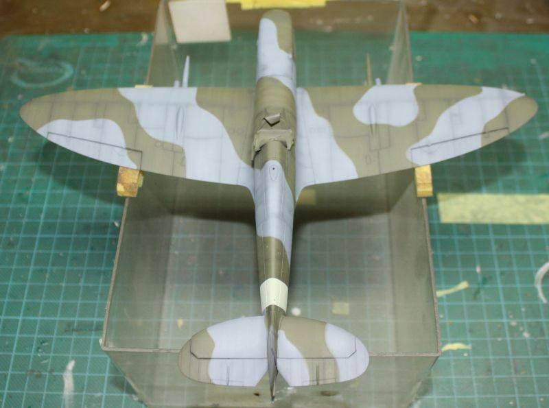 Spitfire Mk IX Eduard 1/48 SpitfireMKIX119