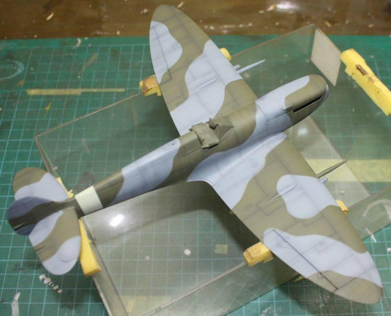 Spitfire Mk IX Eduard 1/48 SpitfireMKIX120