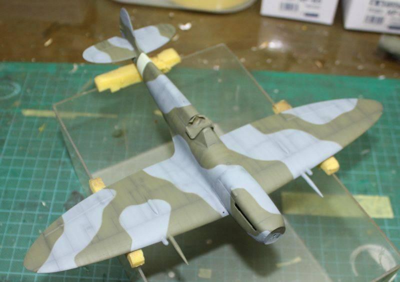 Spitfire Mk IX Eduard 1/48 SpitfireMKIX121