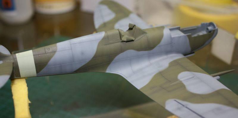 Spitfire Mk IX Eduard 1/48 SpitfireMKIX124