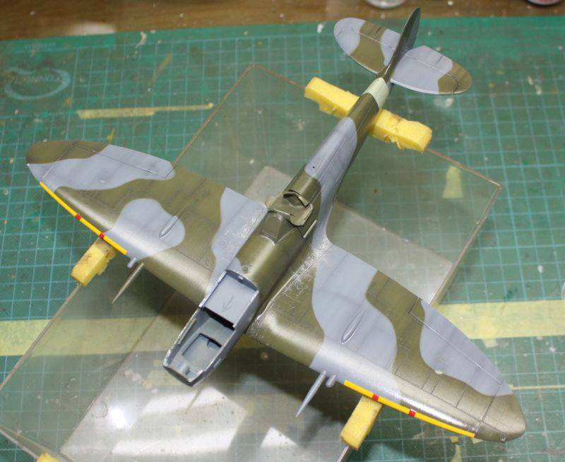 Spitfire Mk IX Eduard 1/48 SpitfireMKIX131