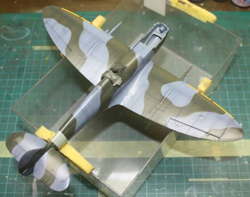Spitfire Mk IX Eduard 1/48 SpitfireMKIX132