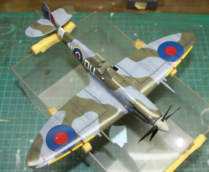 Spitfire Mk IX Eduard 1/48 SpitfireMKIX156