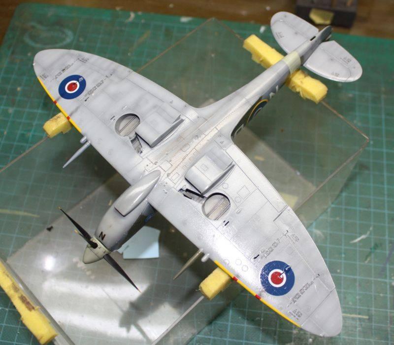 Spitfire Mk IX Eduard 1/48 SpitfireMKIX158