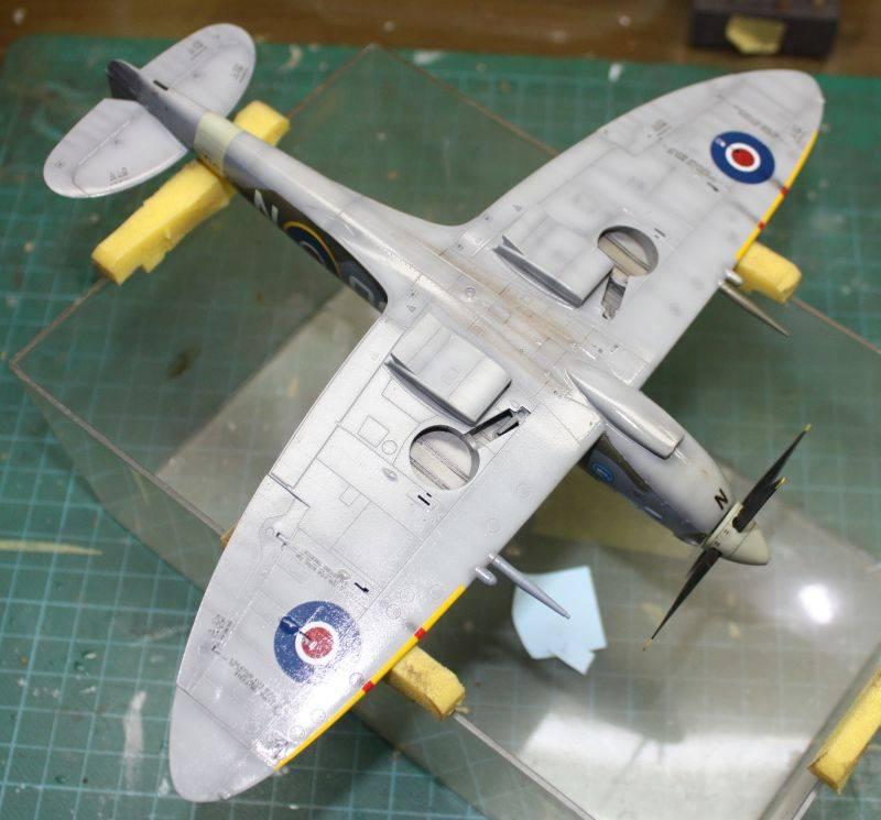 Spitfire Mk IX Eduard 1/48 SpitfireMKIX160-1