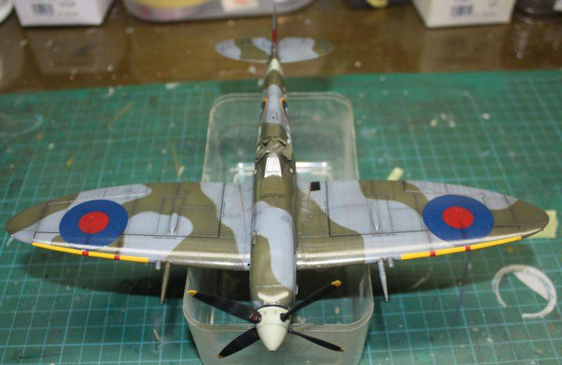 Spitfire Mk IX Eduard 1/48 SpitfireMKIX174
