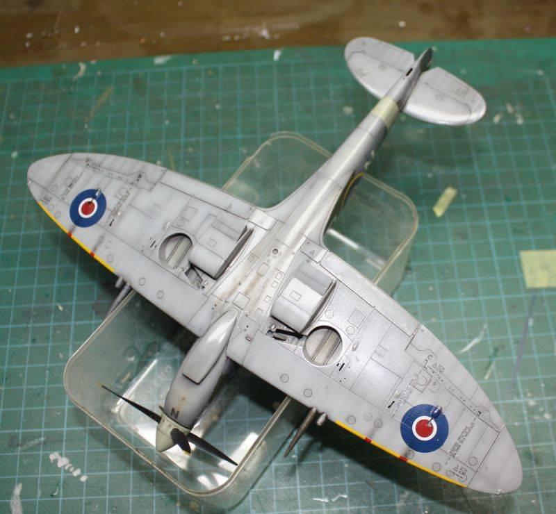 Spitfire Mk IX Eduard 1/48 SpitfireMKIX175