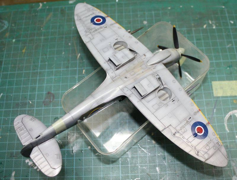 Spitfire Mk IX Eduard 1/48 SpitfireMKIX177