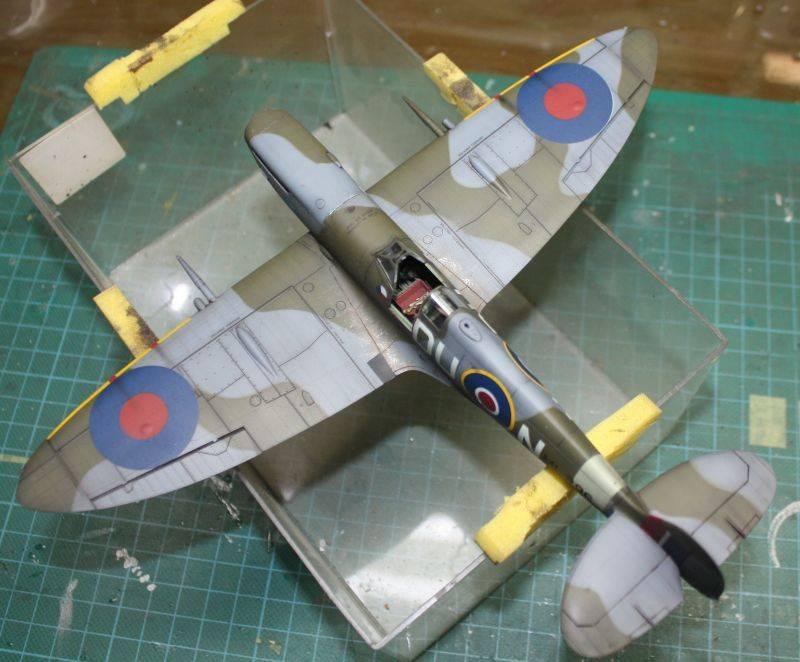 Spitfire Mk IX Eduard 1/48 SpitfireMKIX181