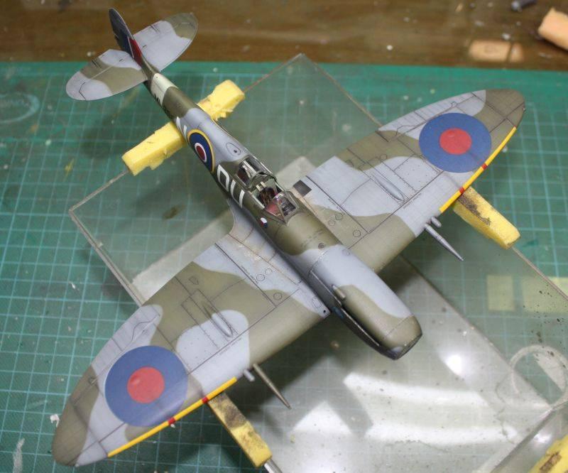 Spitfire Mk IX Eduard 1/48 SpitfireMKIX183