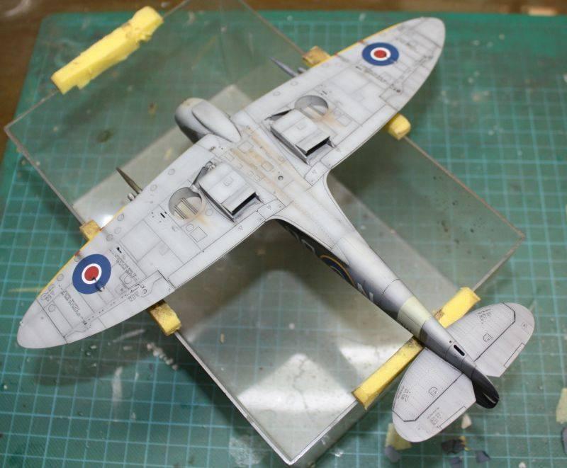 Spitfire Mk IX Eduard 1/48 SpitfireMKIX184
