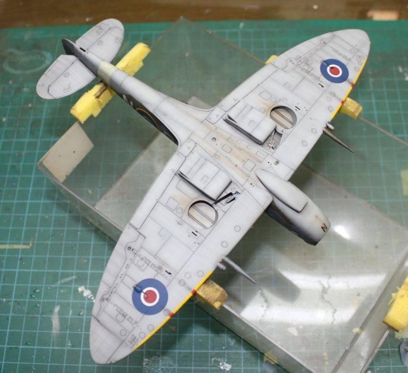 Spitfire Mk IX Eduard 1/48 SpitfireMKIX185