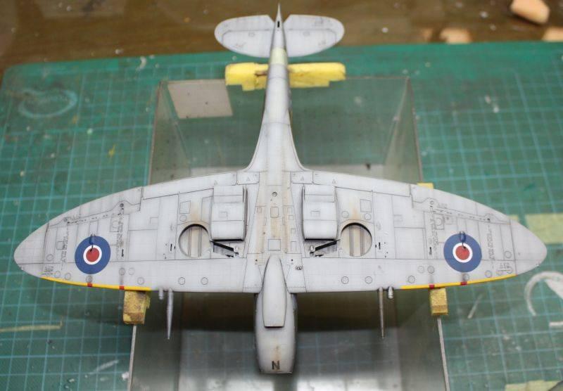 Spitfire Mk IX Eduard 1/48 SpitfireMKIX186