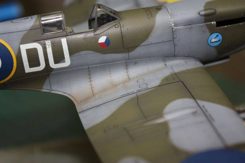 Spitfire Mk IX Eduard 1/48 SpitfireMKIX188