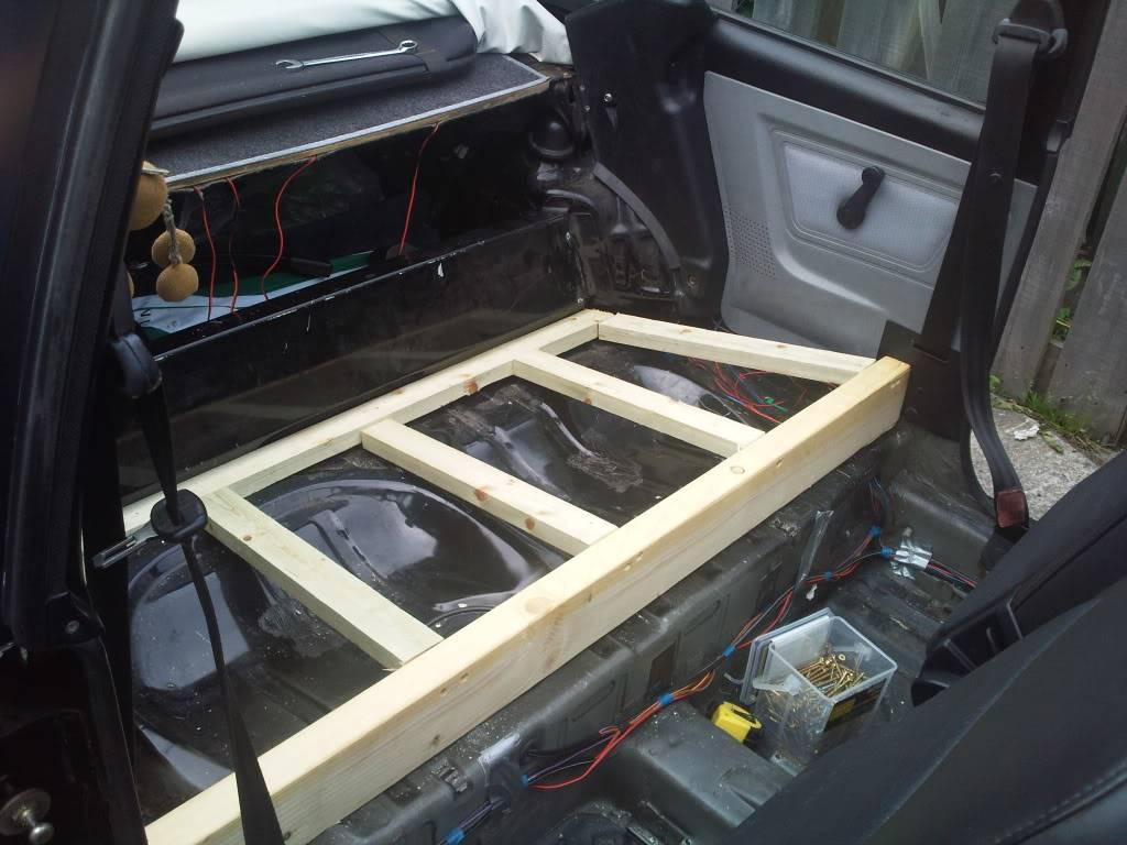 Audi TT Interior Into MK1 Cabbie Photo0397