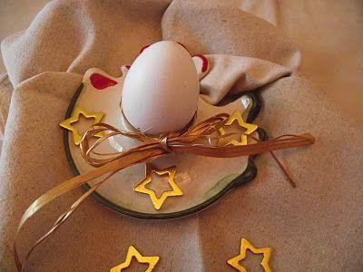 Brownie en cáscara de huevo. Cascara