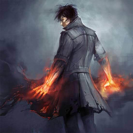 Elemental spirits of fire (quest NPC's) FireBender