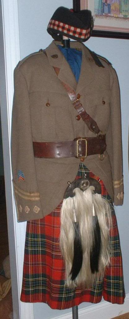 Highland Uniforms of the CEF 236th-Overseas-Battalion_The-New-Br