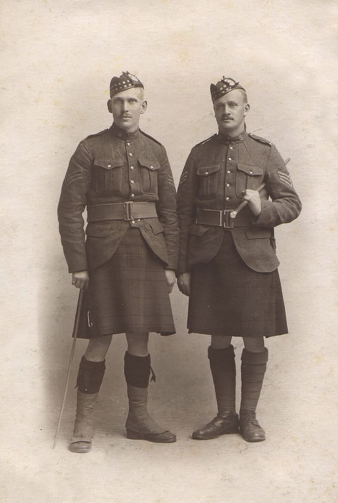 Highland Uniforms of the CEF John-cannon-stothers_jim-patters-1
