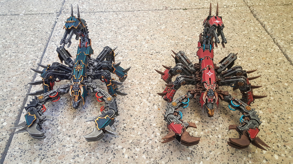 [TUTO] Conversion Defiler/Soulgrinder en Scorpion du chaos 45