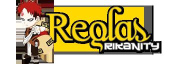Registrarse Reglas