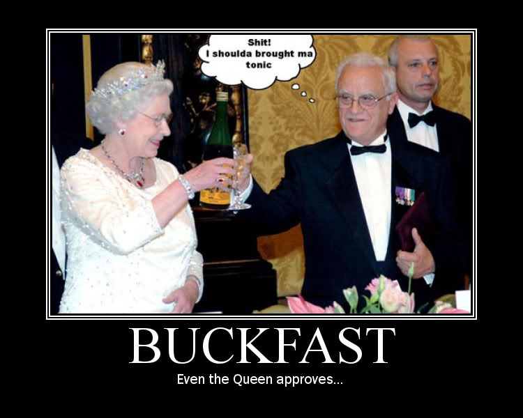 Buckfast our other national drink - Page 2 Queen-Buckfast-1