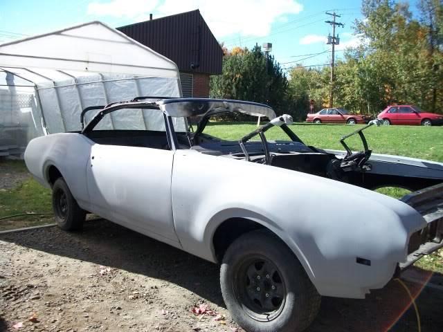 1968 Oldsmobile Cutlass Cabriolet projet 100_0026