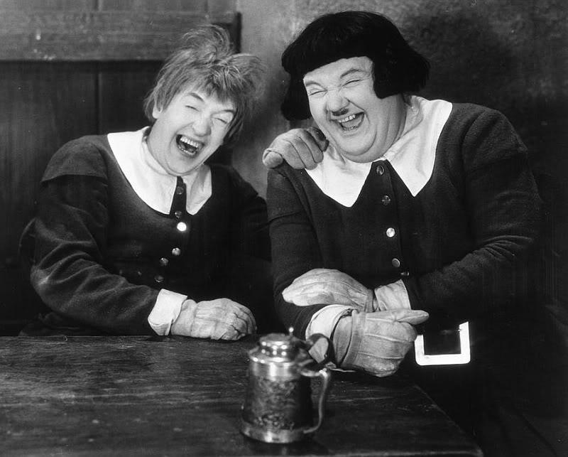 Laurel et Hardy Laughfra