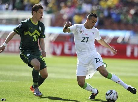 Noticias Sobre el Mundial Argelia