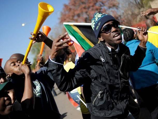 Imagenes del Mundial Vuvuzelas
