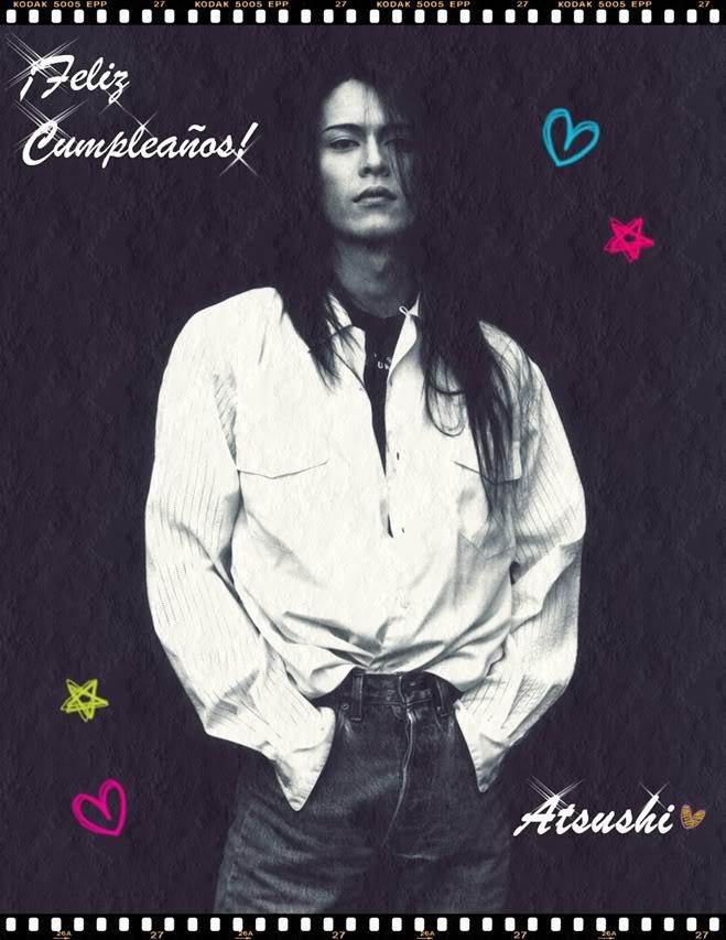 ¡¡¡Feliz Cumpleaños Atsushi!!! CumpleaosAcchan