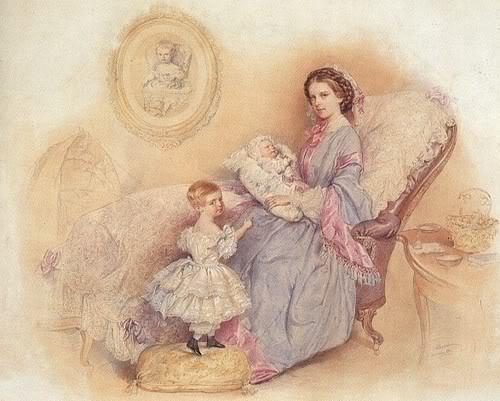 Retratos e imágenes de la emperatriz Elisabeth Negligee