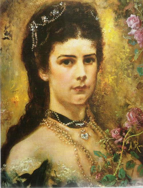 Retratos e imágenes de la emperatriz Elisabeth - Página 2 SissibyAntonRomacko1880