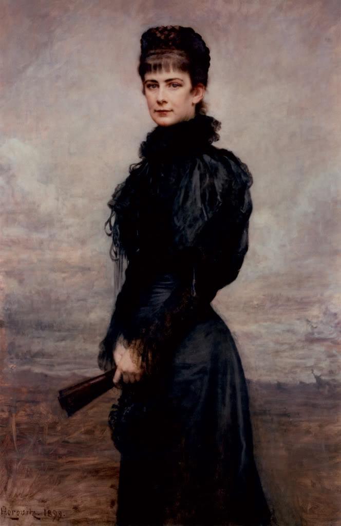 Retratos e imágenes de la emperatriz Elisabeth - Página 2 Sissiinblack