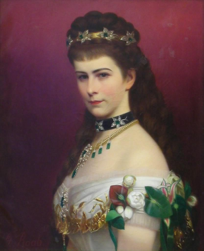 Retratos e imágenes de la emperatriz Elisabeth - Página 2 Sissibustle