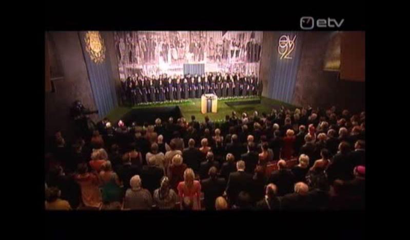 Happy 92th birthday,Estonian Republic! Hymniaeg