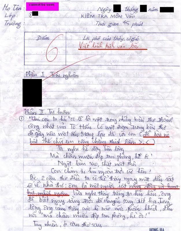 Bài làm văn của 1 học sinh lớp 8 Trang11fn2