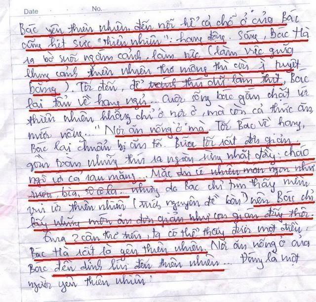 Bài làm văn của 1 học sinh lớp 8 Trang31fp2