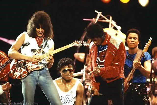 """La colaboración de Eddie Van Halen en """"Beat it"""" es su preferida. Hwgv2x"""