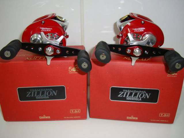 Re: VENDO CARRETILHA ZILLION 7.3:1 50anos DAIWA DSC02233